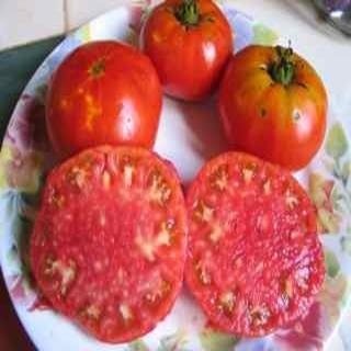 Brandywine, Heart Shaped Tomato